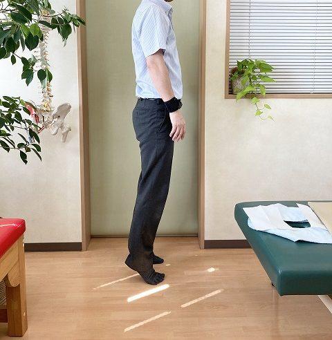 背伸び体操